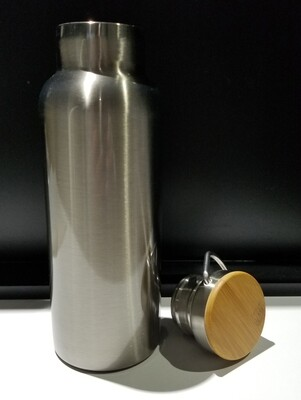 500ml Water Bottle with Bamboo Lid