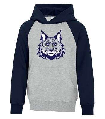 ATC Fleece Two Tone Hooded Sweatshirt