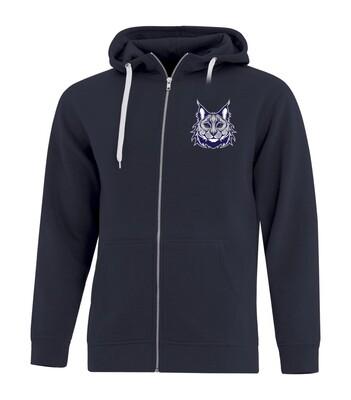 ATC™ EVERYDAY Fleece Full Zip Youth Hooded Sweatshirt