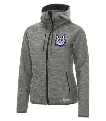 DRYFRAME® DRY TECH Fleece Full Zip Ladies' Hooded Jacket