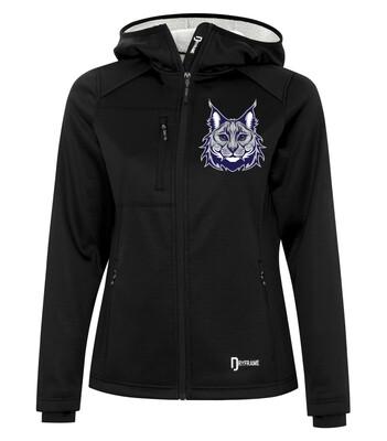 DRYFRAME® BONDED TECH Fleece Full Zip Hooded Ladies' Jacket