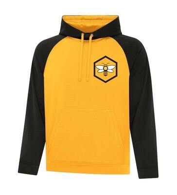 ATC™ GAME DAY™ Adult and Youth Fleece Two Tone Hooded Sweatshirt