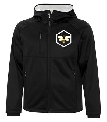 DRYFRAME® BONDED TECH Fleece Full Zip Hooded Men's Jacket