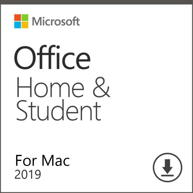 Microsoft Office Home & Student 2019 Account Lifetime with Download Link for MAC Global Language(Not CD)
