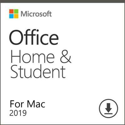 Microsoft Office Home & Student 2019 Account Lifetime 32/64 Bit with Download Link for MAC Global Language(Not CD)