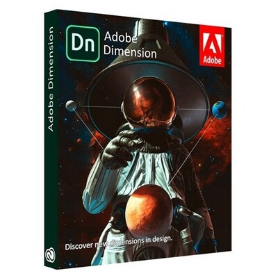 Adobe Dimension CC 2021 Lifetime All Languages For Windows/MacOs Full Version (Not CD) Pre-Activated