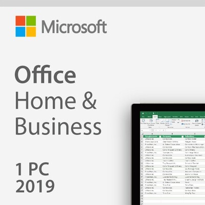 Microsoft Office Home and Business 2019 Digital License Key Lifetime 32/64 Bit  with Download Link Global Language for Windows(Not CD)