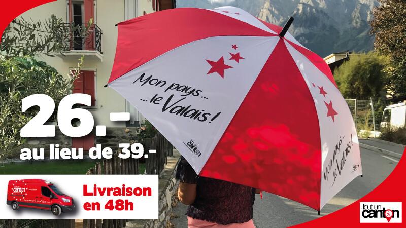 Parapluie Mon Pays Le Valais.