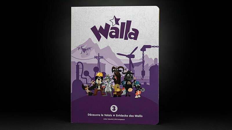 Walla Découvre le Valais Volume 3