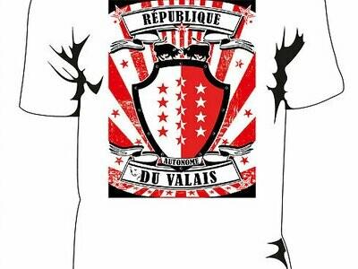 T-shirt : République autonome du Valais
