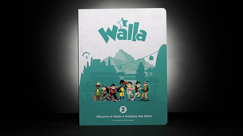 Walla Découvre le Valais Volume 2