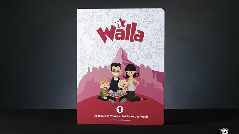 Walla Découvre le Valais Volume 1
