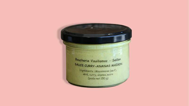Sauce Cury-Ananas Maison
