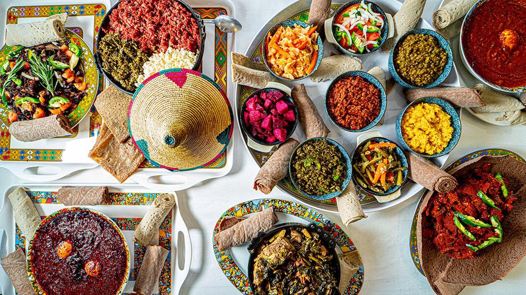 Menu de dégustation éthiopien à volonté pour 2 personnes