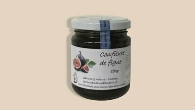 Confiture de figue du Valais