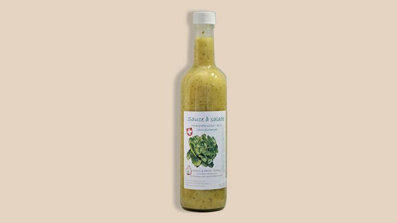 """Sauce à salade """"Vinaigrette Suisse"""""""