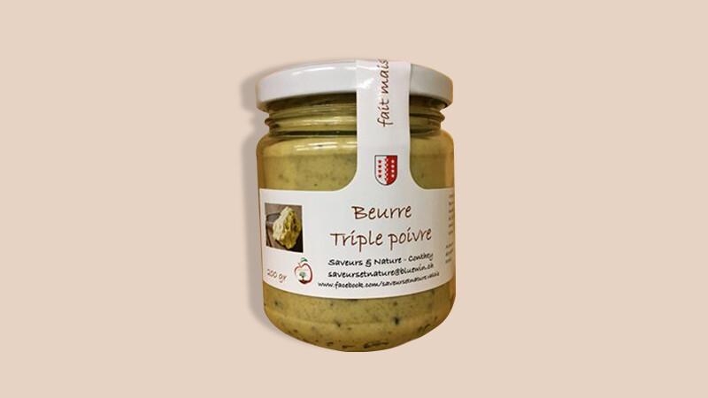 Beurre triple poivre