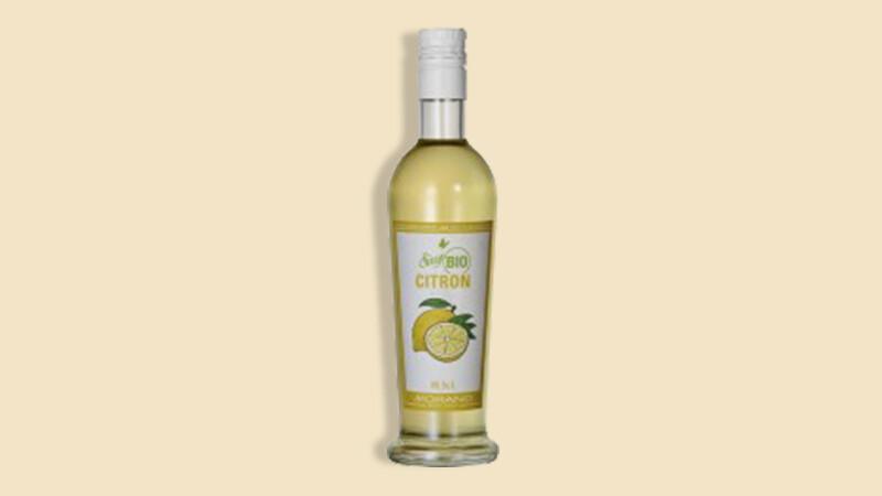 Sirop citron bio