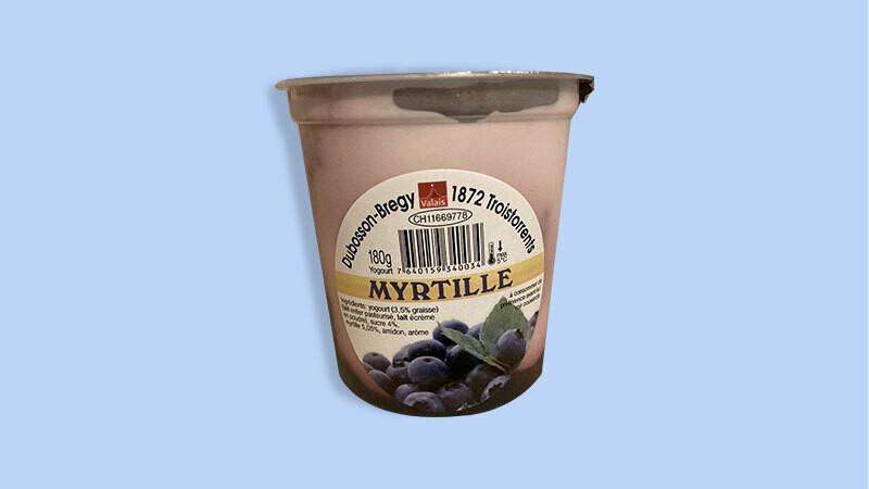 Yogourt Myrtille