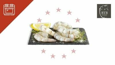 Crevettes géantes décortiquées