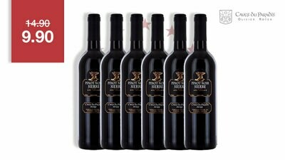 6 x Pinot Noir Coteaux de Sierre 75cl