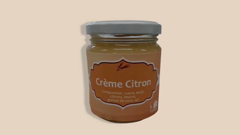 Crème citron artisanale