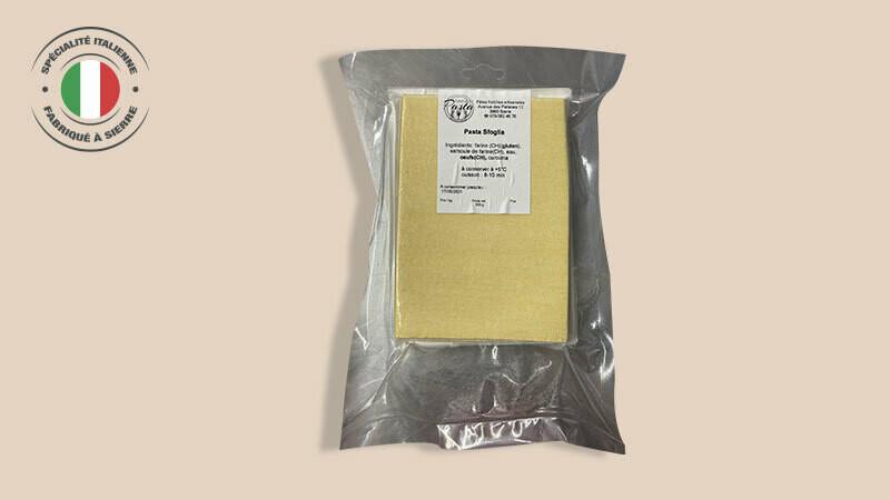 Feuille de pasta pour lasagne 500g