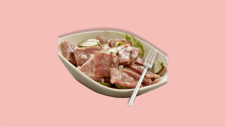 Salade de museau à la Valaisanne en vinaigrette