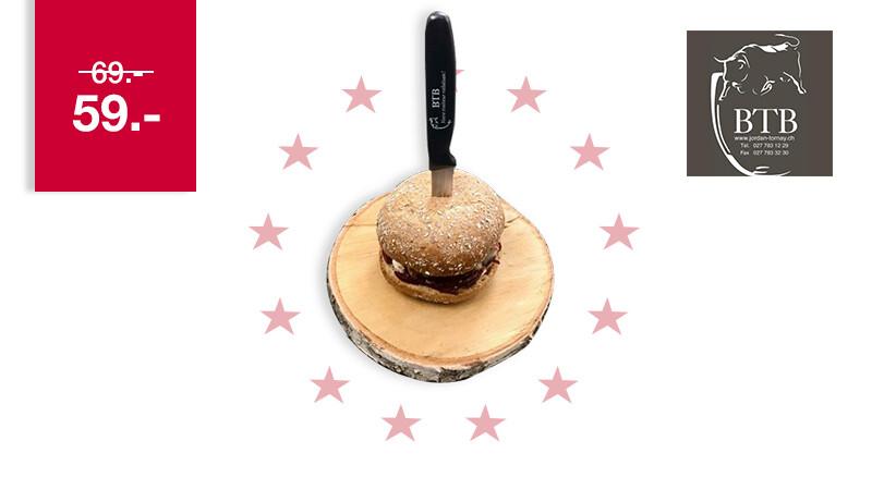 """Le pack Burger """"Le Rustique"""" livré chez vous"""