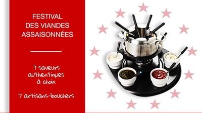 "Pack Festival Fondue Chinoise ""7 boucheries"""