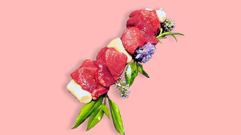 Brochette de veau