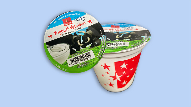Yoghurt artisanal Labellisé Valais