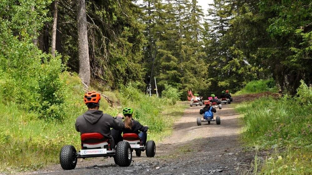 Descente en karting Arnouva-Montana