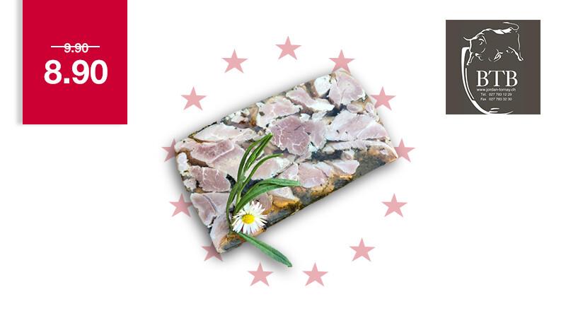 Jambon persillé tranché