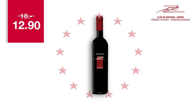 6 x Assemblage Rouge Soleil Noir 75 cl - 2019