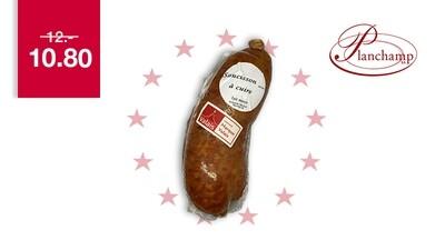 Saucisson à cuire Valaisan Labellisé Marque Valais