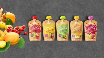Compote de fruits BioFruits
