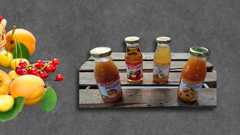 24 X Nectar et jus de fruits 0.25cl
