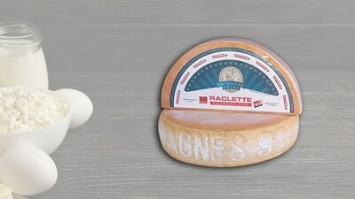 Fromage à raclette Bagnes 98 AOP
