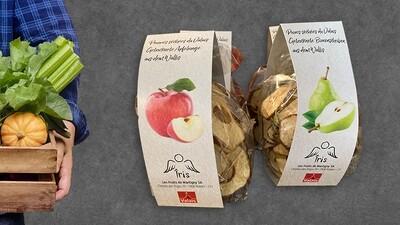 Pommes séchées du Valais 75gr