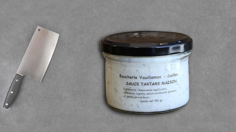 """Sauce Tartare Maison """"Chez Fabrice"""""""