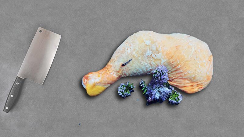 Cuisse de poulet (2 pièces)