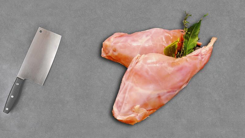Cuisses de lapin par 2 pièces