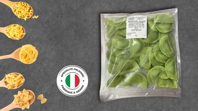 Raviolis aux légumes verts 250g