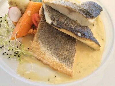 Filet de poisson pour 2 ou 4 personnes