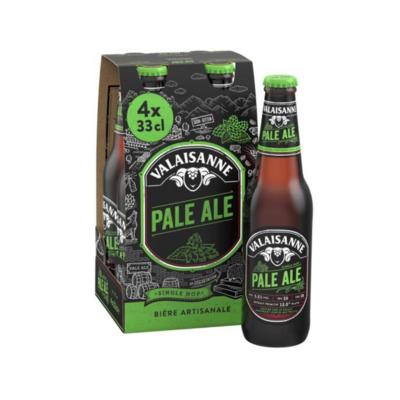 Pack de Valaisanne Pale Ale (4X33cl)