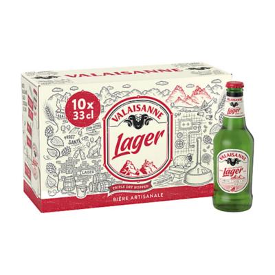 Pack de Valaisanne Lager (10 x33cl)