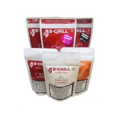 Maxi pack découverte CBD Suisse B-Chill