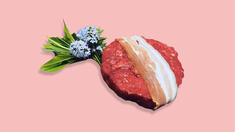 """Steak haché """"Race d'Hérens"""""""