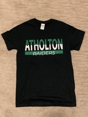 Atholton Raiders T shirt- medium, black